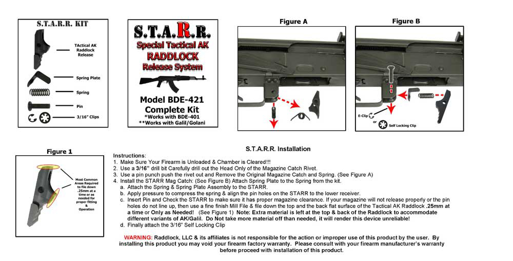 New starr special tactical ak raddlock release now available new starr special tactical ak raddlock release now available calguns ccuart Images